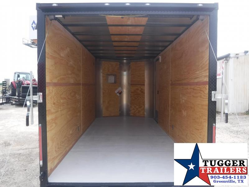 2019 Cargo Craft 7x16 16ft Bronze Blackout Ramp Enclosed Cargo Trailer