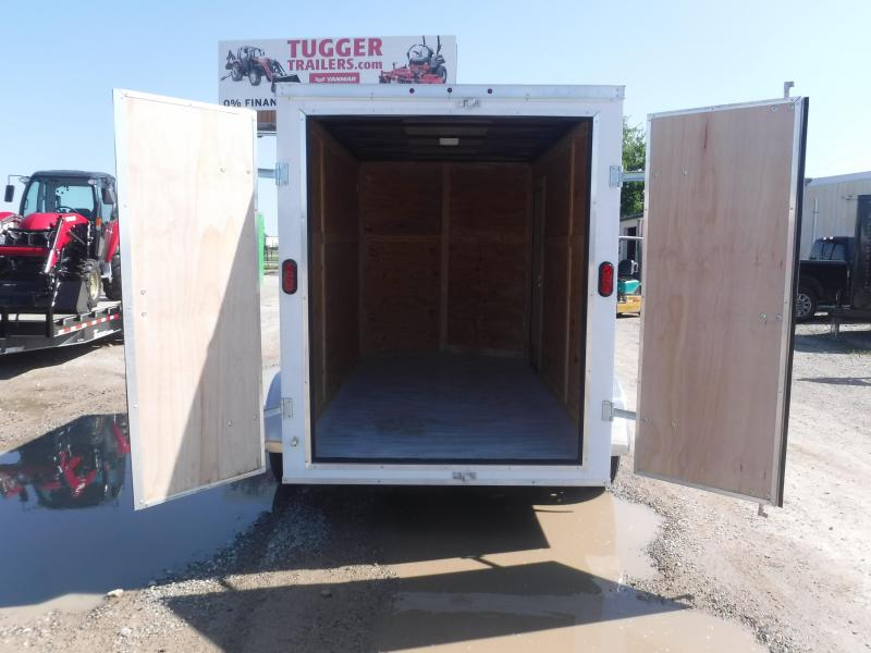 2019 6x12 T-Series Trailer TA Enclosed Cargo Trailers
