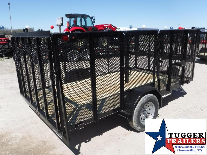 2019 TexLine 77x12 12ft Landscape Work Lawn Equipment Trailer