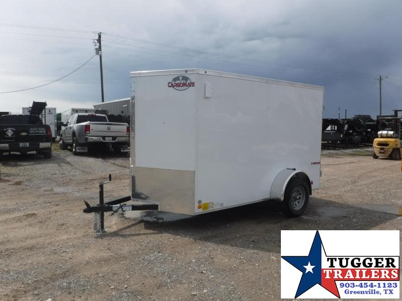 2020 Cargo Mate 6X10 10ft E-V Double Door Enclosed Cargo Single Axle Trailer