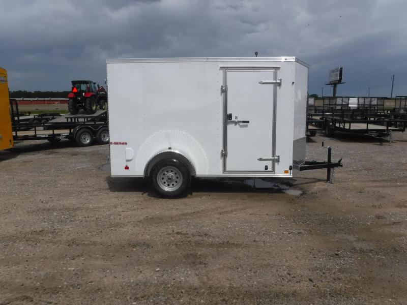 2020 Cargo Mate 6X10 10ft E-V Double Door Enclosed Cargo Trailer