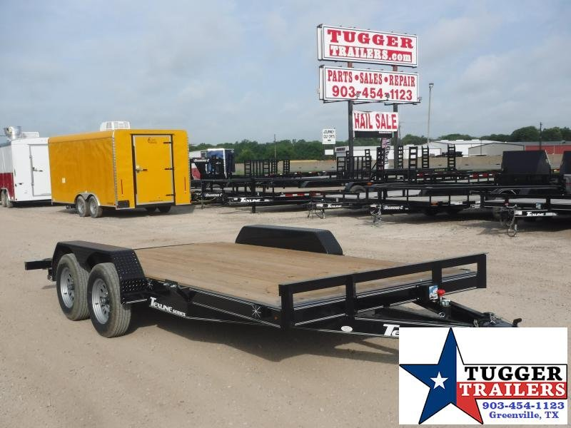 2019 TexLine 83x16 16ft Flatbed Utility Trailer