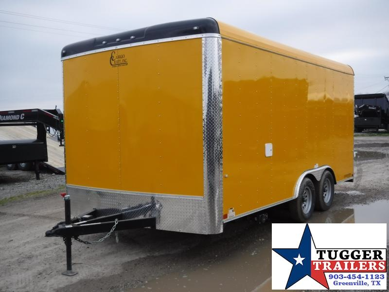 2019 Cargo Craft 8.5x16 16ft Yellow 2019 Concession Vending / Concession Trailer