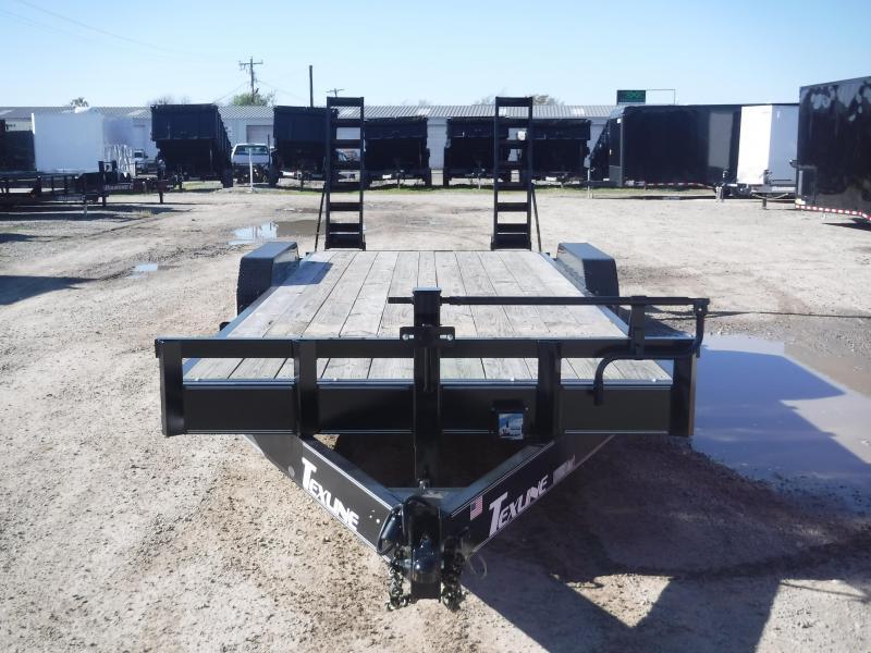 2018 TexLine Trailer 83 x 22 Bobcat Equipment Trailers