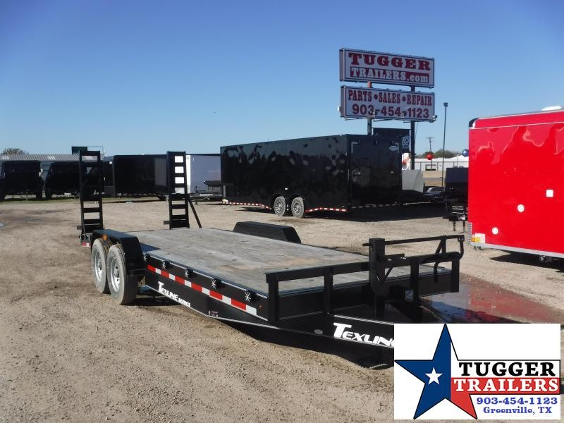 2018 TexLine Trailer 83 x 22 Bobcat Equipment Trailers