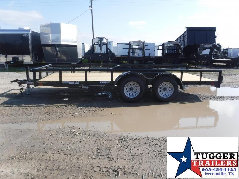 2019 Diamond C Trailers 83 X 16 Tandem Axle Utility Trailer