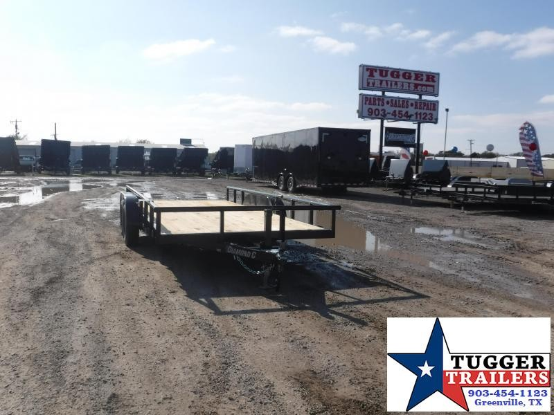 2019 Diamond C Trailers 83 X 16 Tandem Axle Utility Trailer