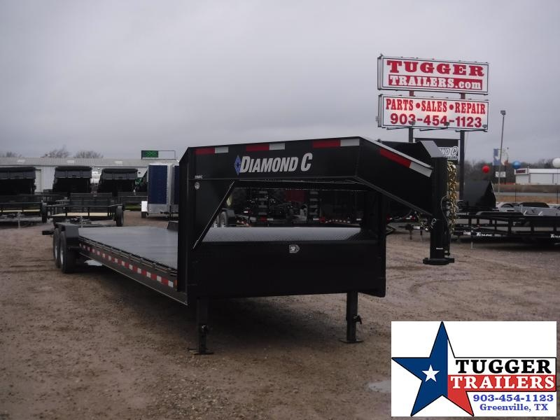 2019 Diamond C Trailers 35 MVC 82x36 Goose Neck Flatbed Trailer