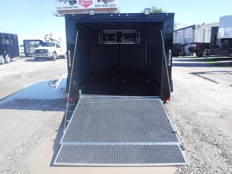 2019 Cargo Mate Trailers 7 X 12 Blazer Enclosed Cargo Trailer