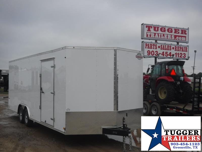 2019 Cargo Mate 8.5 X 24 Car Hauler Enclosed Cargo Trailer
