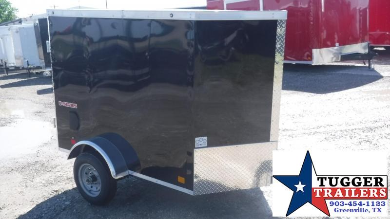 2019 Cargo Mate 4x6 E-Series Enclosed Cargo Trailer