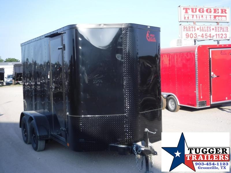 2019 Cargo Craft 7x14 14ft Blackout Ramp Enclosed Cargo Trailer