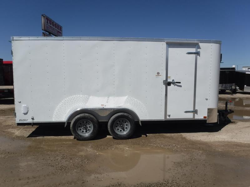 2019 Cargo Craft 7x16 16ft Double Door Enclosed Cargo Trailer