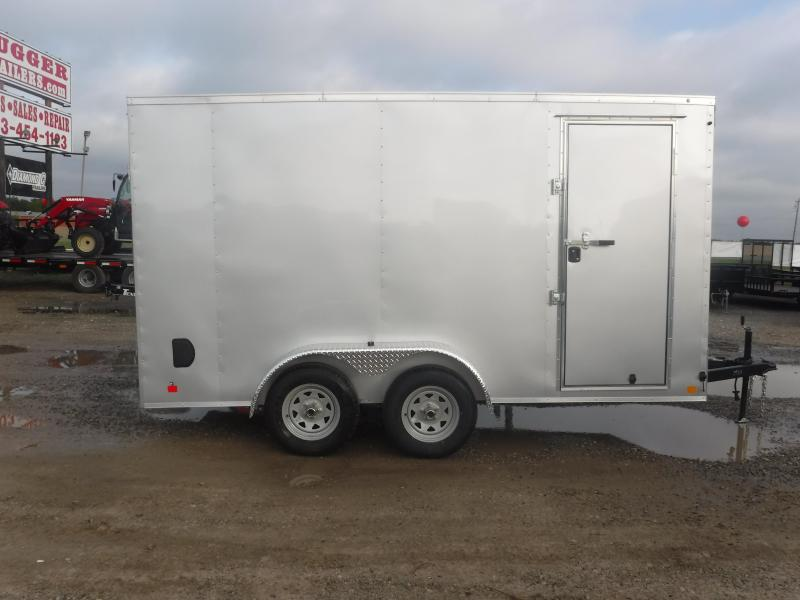 2019 Cargo Mate 7 x 14 LE Enclosed Cargo Trailer