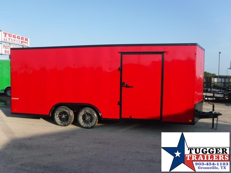 2020 Cargo Mate 8.5x20 20ft E-Series Blackout Enclosed Cargo Trailer
