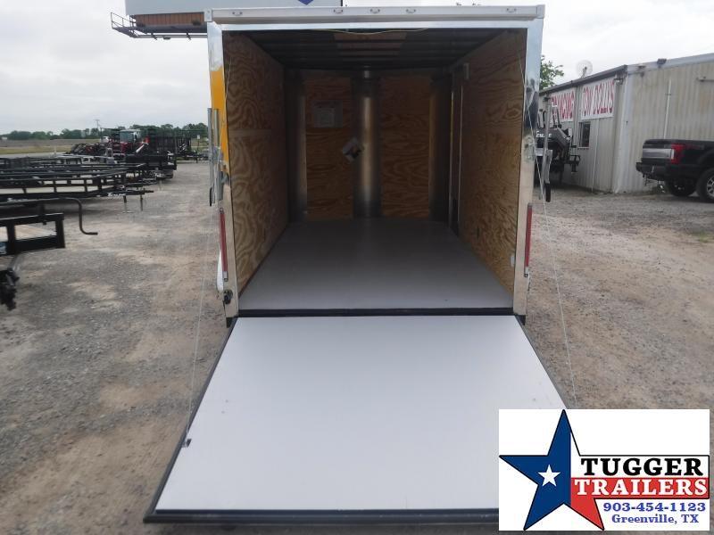 2019 Cargo Craft 7x12 12ft Ramp Enclosed Cargo Trailer