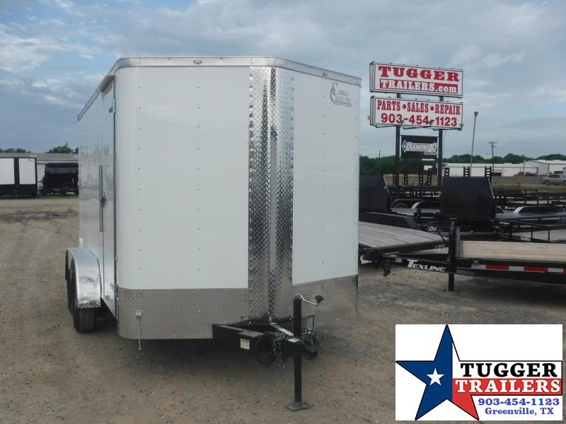 2019 Cargo Craft 7x12 12ft Ramp Enclosed Cargo Trailer