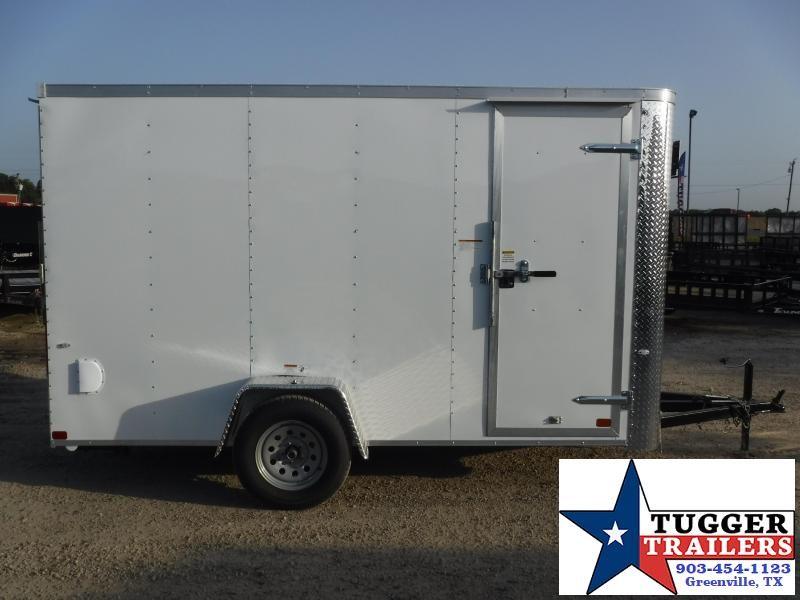 2019 Cargo Craft 6x12 12ft Elite Flat Front Ramp Enclosed Cargo Trailer