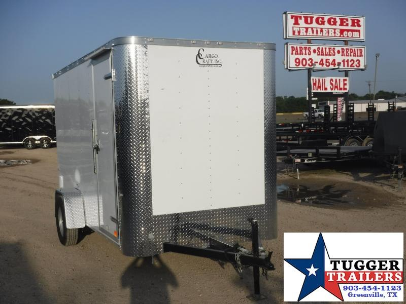 2019 Cargo Craft 6x12 12ft Elite Flat Front Ramp Enclosed Cargo Trailer