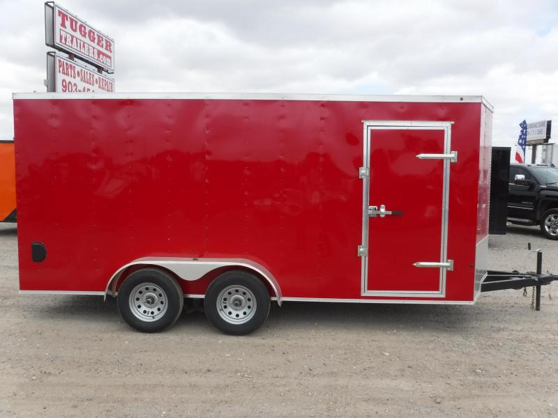 2019 T-Series Trailers 7 x 16 Elite Enclosed Cargo Trailer