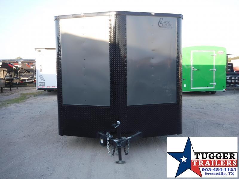 2020 Cargo Craft 8.5x16 16ft Blackout Ramp Enclosed Cargo Trailer