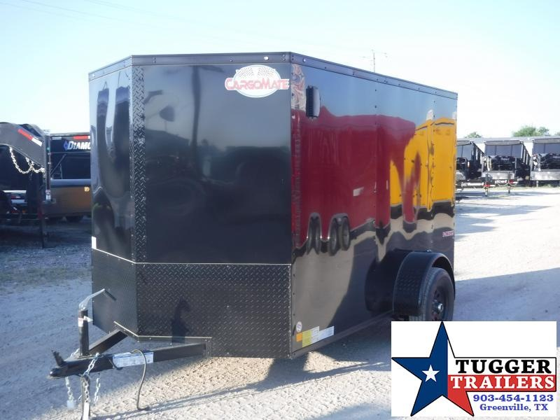 2019 Cargo Mate 6X10 10ft Blackout Ramp Enclosed Cargo Trailer