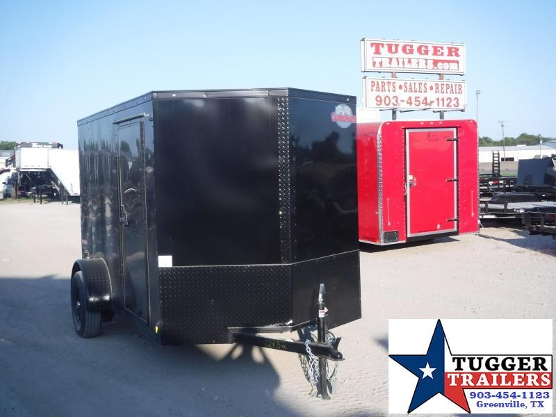 2019 Cargo Mate 6X10 10ft Blackout Ramp Enclosed Cargo Trailer