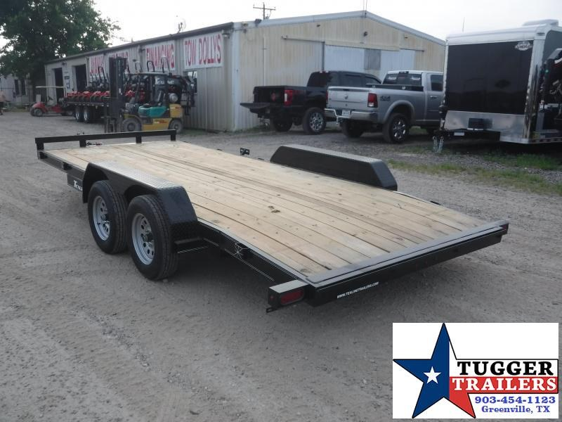 2019 TexLine 83x18 18ft Deluxe Open Auto Hauler Car / Racing Trailer