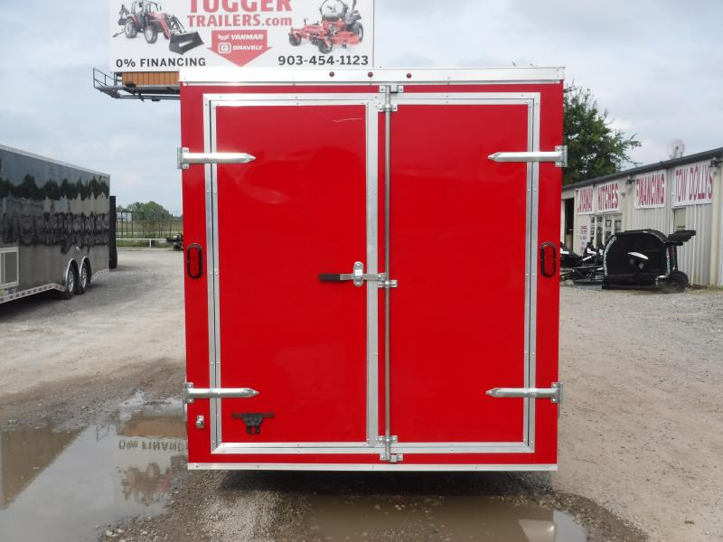 2019 T-Series 7 x 16 Enclosed Cargo Trailer Motorcycle Hauling Trailers