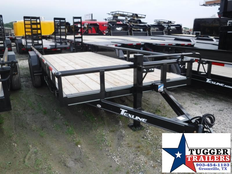 2019 TexLine 83x20 20ft Bobcat Utility Equipment Trailer