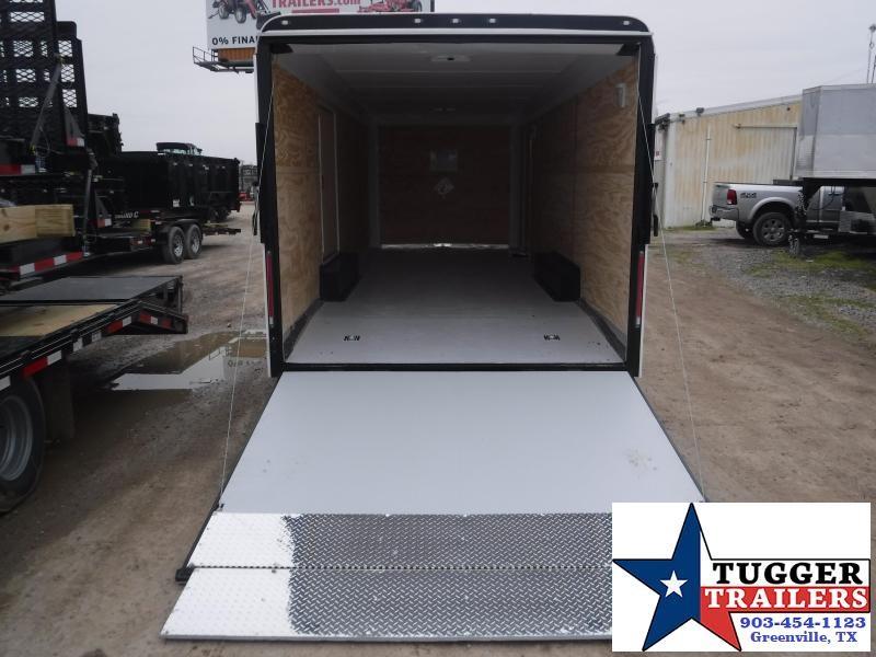 2019 Cargo Craft 8.5x24 24ft Auto White 2019 Ramp Car / Racing Trailer