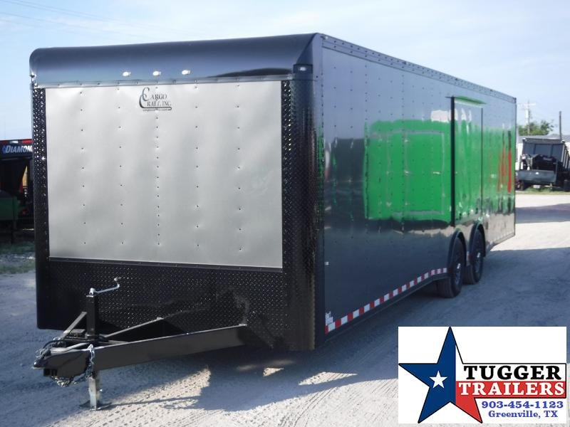 2020 Cargo Craft 8.5x32 32ft Blackout Auto Mobile Cargo Enclosed Car / Racing Trailer