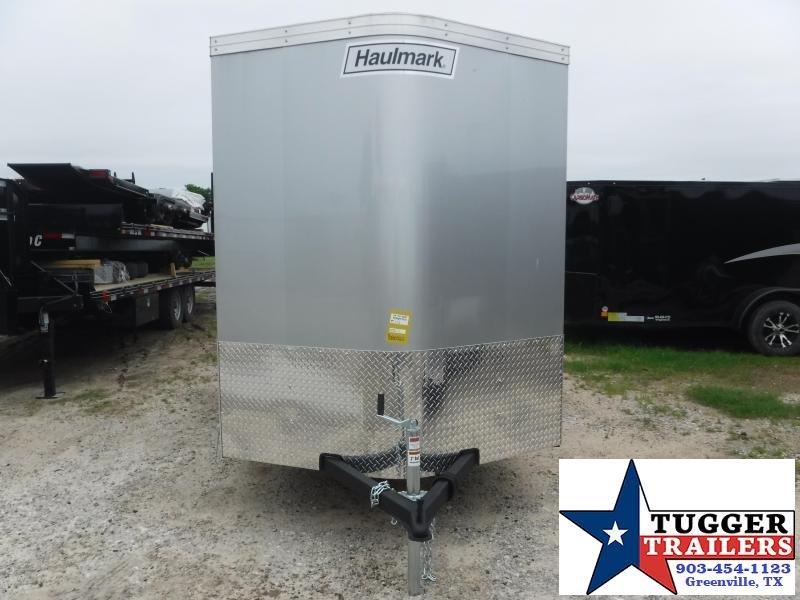 2019 Haulmark 6x12 12ft Transport Ramp Enclosed Cargo Tandem Axle Trailer