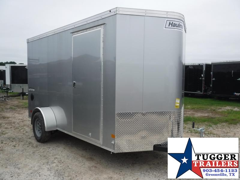 2019 Haulmark 6x12 12ft Transport Ramp Enclosed Cargo Tandem Axle Trailer
