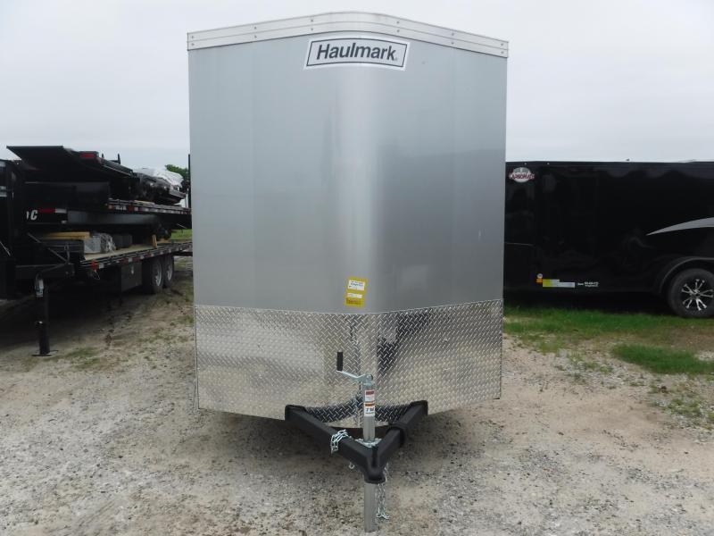 2019 Haulmark 6x12 12ft Transport Ramp Enclosed Cargo Trailer