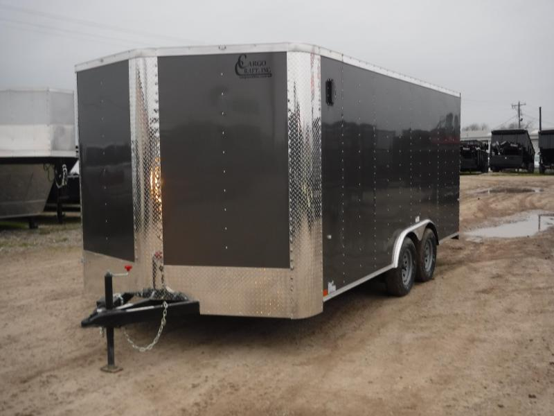 2019 Cargo Craft 8.5x16 16ft Charcoal 2019 Ramp Enclosed Cargo Trailer