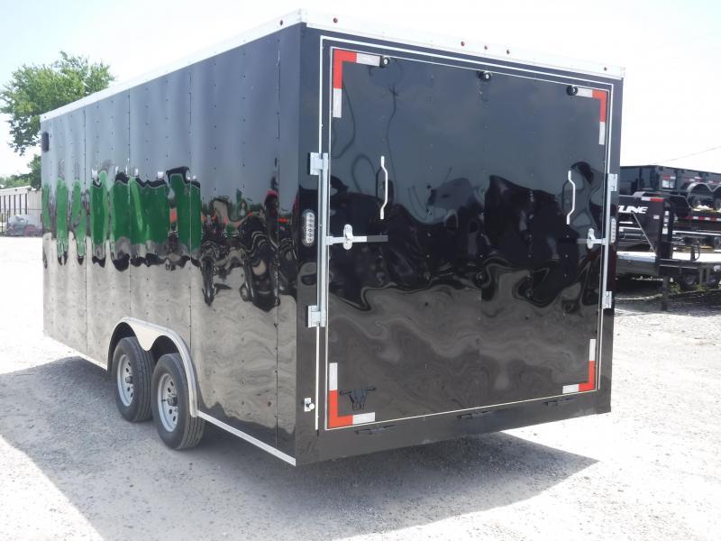 2019 T-Series 8.5 x 16 Cargo Trailer Car / Racing Trailer