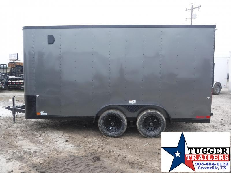 2019 Cargo Craft 7x14 14ft Blackout Ramp Enclosed Cargo Tandem Axle Trailer