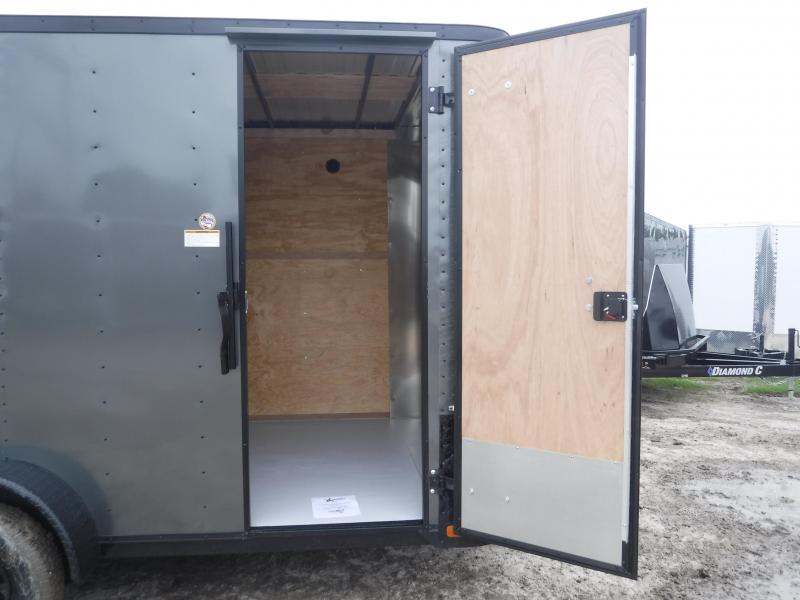 2019 Cargo Craft 7x14 14ft Blackout Ramp Enclosed Cargo Trailer