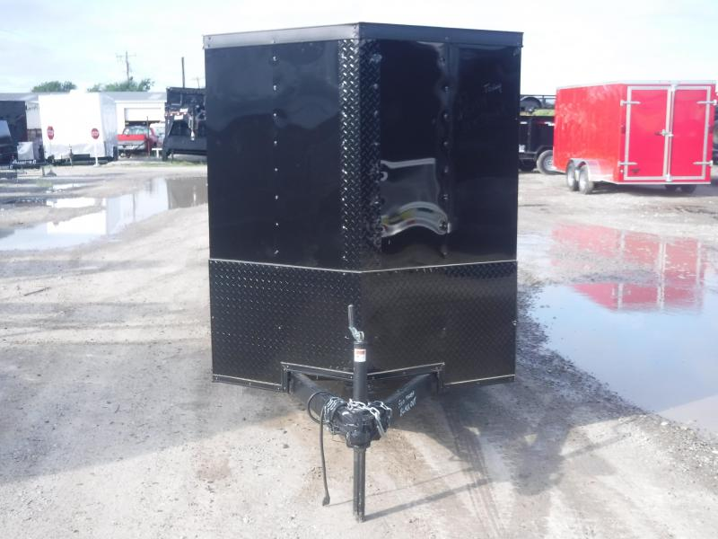 2019 T-Series 5 x 10 Trailer Black Out Enclosed Cargo Trailers