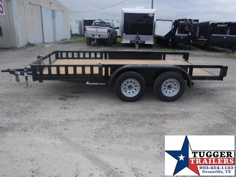 2019 TexLine 83x14 14ft Flatbed Utility Trailer