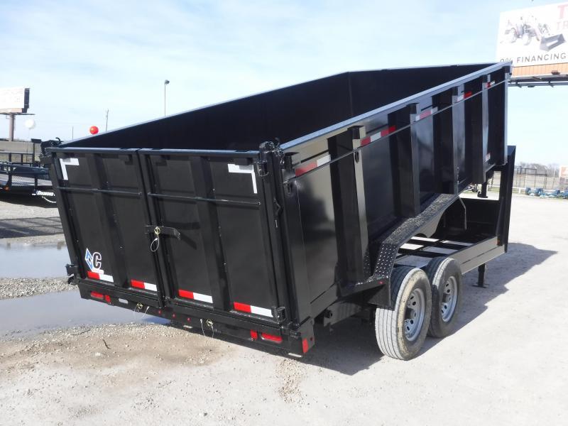 2019 Diamond C Trailers 82x16 16ft Gooseneck Dump Trailer