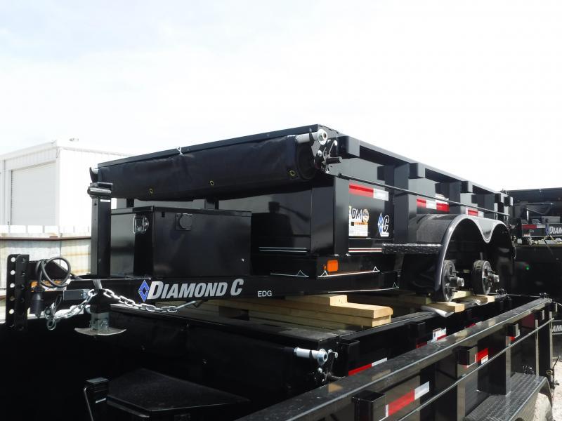 2019 Diamond C Trailers 60x10 10ft EDG235 2019 Dump Trailer