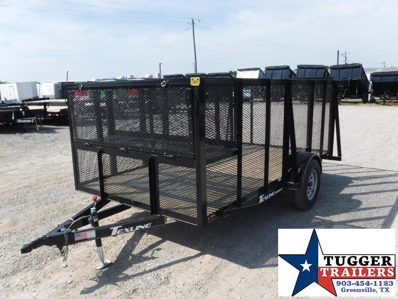 2018 TexLine 77 X 12 Landscape Equipment Trailer