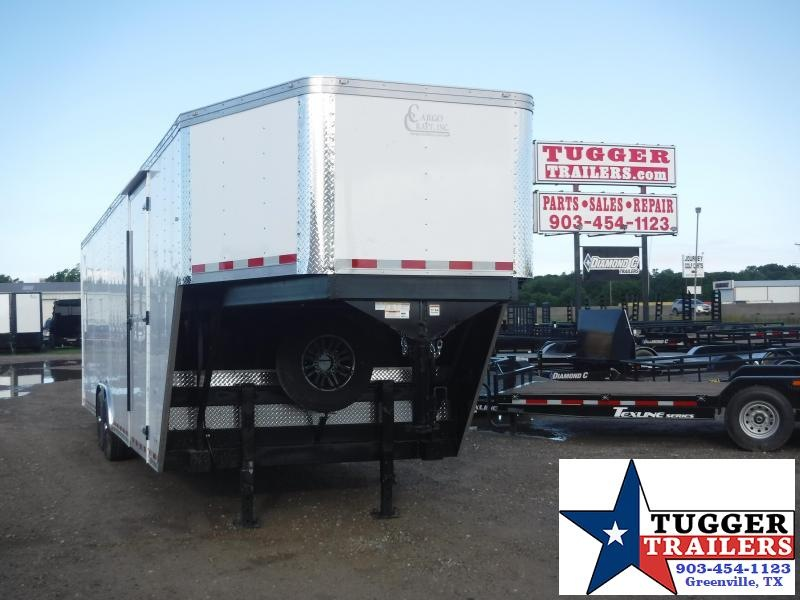 2019 Cargo Craft 8.5x36 36ft Gooseneck Ramp Enclosed Cargo Trailer