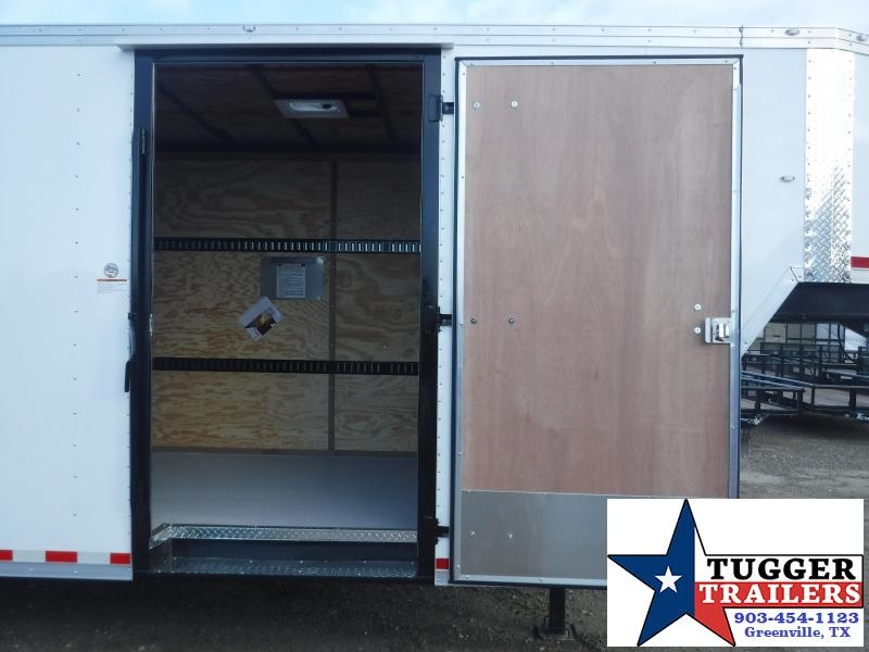 2019 Cargo Craft 8.5x36 36ft Gooseneck Ramp Enclosed Cargo Trailer