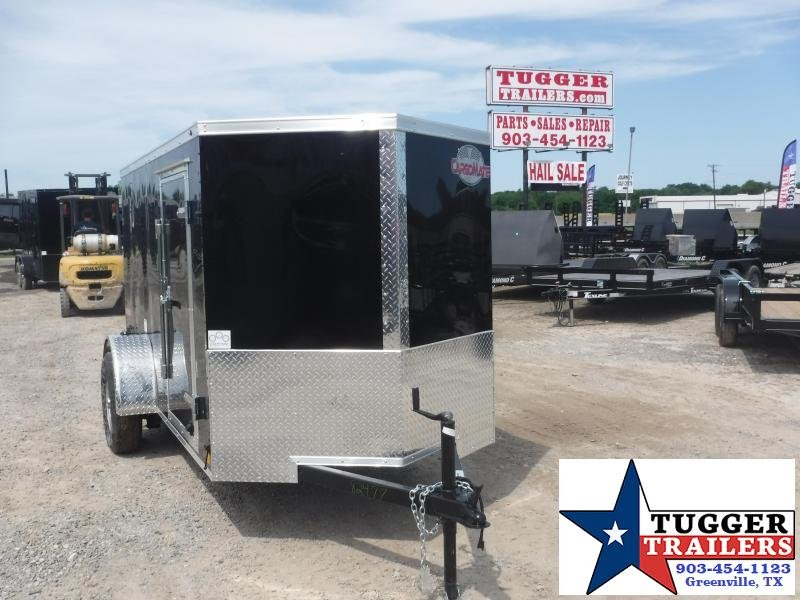 2020 Cargo Mate 5x10 10ft E-V Ramp Enclosed Cargo Trailer