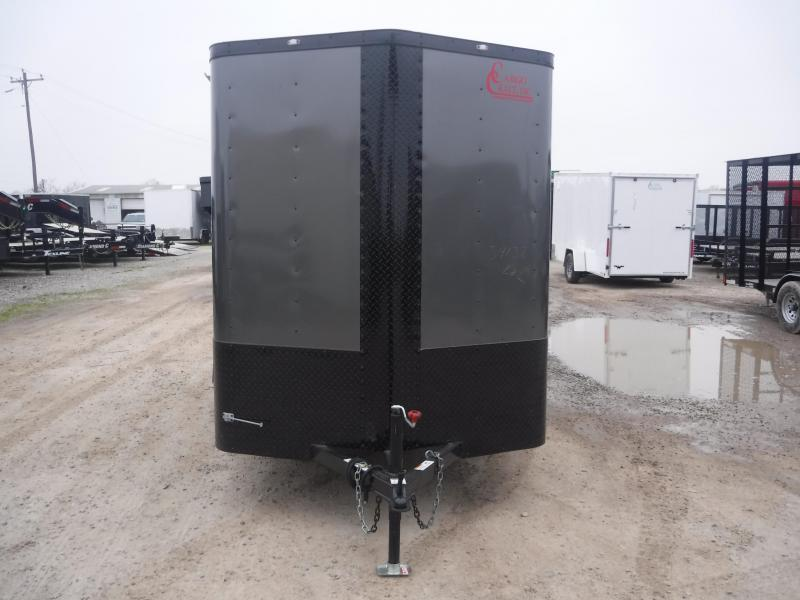 2019 Cargo Craft 6x12 12ft Elite Plus 2 V-Nose Enclosed Cargo Trailer