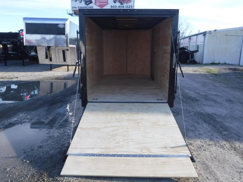 2019 Cargo Mate 7 X 14 LE Black Out Tandem Axle Enclosed Cargo Trailer
