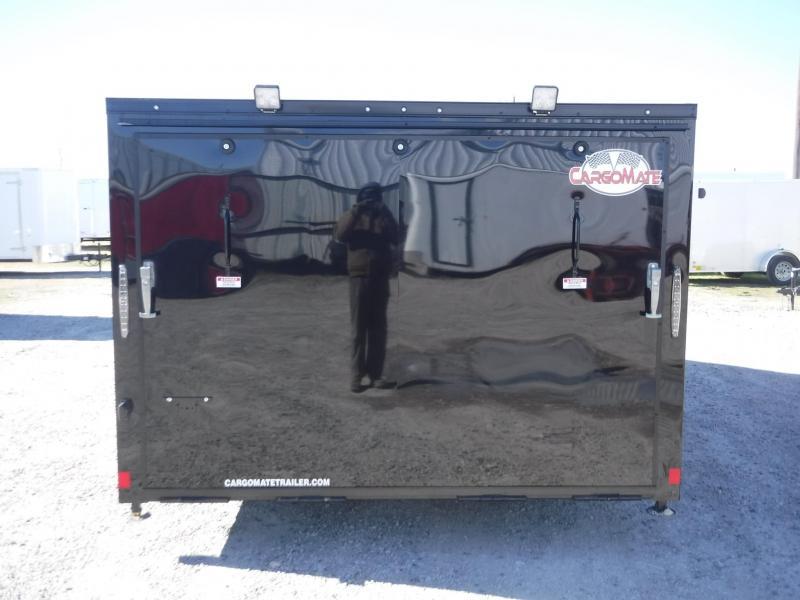 2018 Cargo Mate Trailers 8 X 16 Moto Hauler 500 Enclosed Cargo Trailer